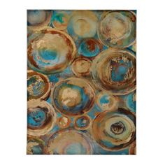 Ancient Cycles Canvas Art Print | Kirklands