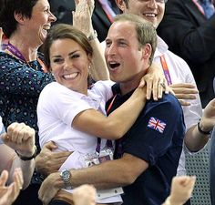 Very natural, sweet pics! Prince William and Kate Middleton