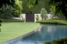 Curvilinear pool and plantings the kohimarama pavillion, auckland