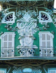 Архитектура и элементы декора стиля модерн (Art Nouveau, Art Deco)