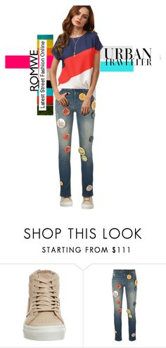 """""""Untitled #461"""" by aschwing ❤ liked on Polyvore featuring Vans, Each X Other, romwe and groupcontest"""
