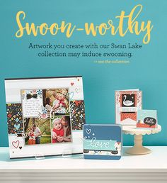 Swan lake is one of our newest CTMH paper collections. Definitely swoon-worthy! www.hellotarina.closetomyheart.com