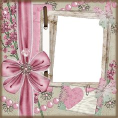 Free Printable Frames with Bows.   Oh My Fiesta! in english