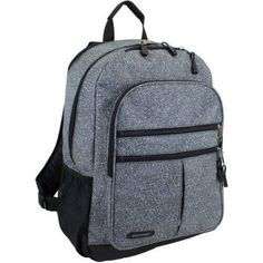 Eastsport Future Tech Backpack with Fully Padded Electronic Storage Pocket, Gray