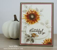 Stampin-Up-Painted-Harvest-Sunflower-Fall-Thanksgiving-Touches-of-Nature-Card-Idea-Sarah-Wills-Sarahsinkspot-Stampinup-Main2