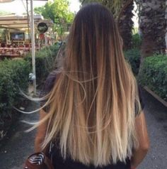 What exactly is Balayage Hair and why do we love it so much? As the name implies, Balayage is a French technique whose goal is to color the hair by adding very soft and. Brown Ombre Hair, Brown Blonde Hair, Ombre Hair Color, Hair Colour, Straight Ombre Hair, Balayage Straight, Brunette Color, Blonde Color, Balayage Hair Blonde