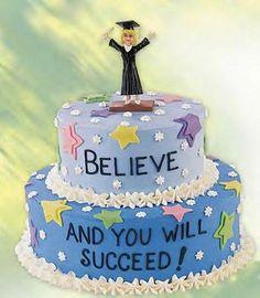 graduation picture cakes | Graduation Cakes > Graduation Mindset Cake