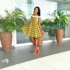ღ ♡ ♡ ღ ~ Ghanaian fashion ~DKK African Print Dresses, African Dresses For Women, African Wear, African Attire, African Fashion Dresses, African Women, African Prints, Ankara Fashion, African Style