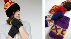Retro Hockey Mittens Mittens, Hockey, Winter Hats, Crochet Hats, Beanie, Retro, Room, Fashion, Fingerless Mitts