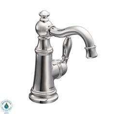 Moen S42107 Weymouth 1-Handle High-Arc Bathroom Faucet | ATG Stores
