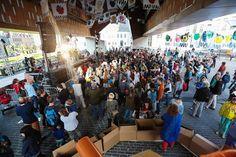 Gentse stadshal wordt deze zomer twee weken een overdekt speelplein. Het Nieuwsblad