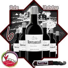 Pack disponible para comprar vino Moteabellón con una super oferta con regalo incluido
