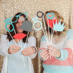 DIY - How to make your own photo booth stick props