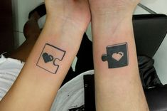 couple tattoos that fit together | 11 Super Cute Couple Tattoo Ideas | Unique Tattoo Ideas
