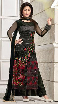 20 Best Akshara Hina Khan Salwar Kameez Images Anarkali Suits