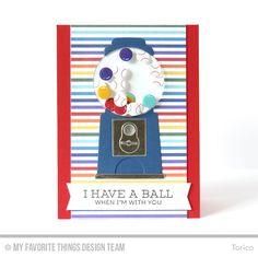 I Have a Ball - MFT February Card Kit Release