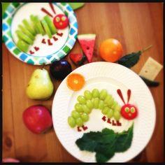 Very Hungry Caterpillar Food Craft