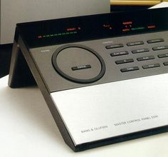 """This is the Bang and Olufsen Master Control Panel 5500 remote controller that came with the Beomaster 5500 I picked up with it. Great fun given how far electronics have come (this is from 1987). Does what modern digital does including something very recent, 2-way communication...except it's more analog than one would think...and HEAVY cuz it is has a hunk of stainless...oh, and takes 4 """"D"""" batteries! Hahaha!"""
