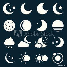 Moon Icons
