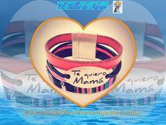 """El Taller De Âdrian: Pulsera """"Te quiero mama"""""""