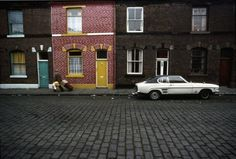 Great set of photos of 'Northern England' in 1960s and 1970s. I picked this one because it has the car I still want - Ford Capri Mk 1
