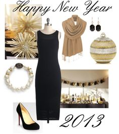 """""""New Year's Eve"""" by bluehydrangea ❤ liked on Polyvore"""