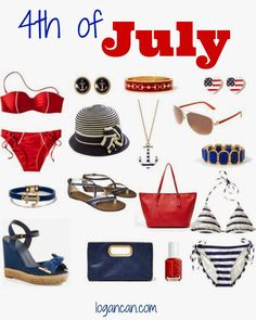 July 4th #Accessories #fashion