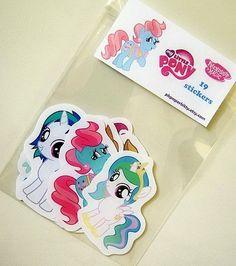 My Little Pony friendship is magic sticker pack. $7.50, via Etsy.