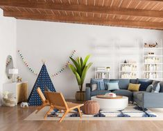 5 Tips For Designing A Kid Friendly Living Room. Modern Living Room DesignMid  Century ...