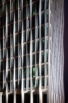 Hochhaus von Barkow Leibinger für das Quartier Europacity in Berlin.