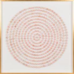 Sea Urchin Circles: Pink   Natural Curiosities