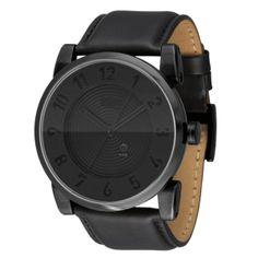 Vestal Mens Doppler All Black Watch | DOP003