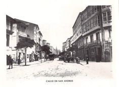 San Andrés Street View, Outdoor, St Andrews, Old Photography, Antique Photos, Towers, Cities, Fotografia, Crystal