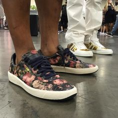 "Nice Kicks on Instagram: ""@Vegas_Jones stopped by our #NiceKicks booth at #AgendaShow Las Vegas in the ""Rose"" @PUMA Star by @HouseofHackney. #PUMALife"""