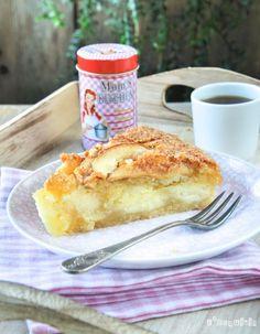 Bizcocho relleno de crema con manzana {paso a paso} | L'Exquisit