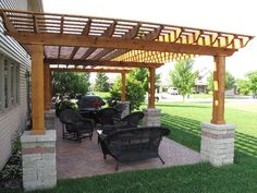 Experts at decks, patios, pavers, fireplaces, fire pits, gazebos, arbors, pergolas, grill stations, hot tubs... I'll have to check this out!
