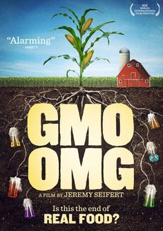 """""""Check Out 'GMO OMG' a Film on Genetic Engineering"""" Jeremy Seifert's new documentary film """"GMO OMG"""" provides a solid introduction to those new to the issues surrounding genetically modified food. Learn more about this insightful film, here: Is your sta Mundo Cruel, Gmo Facts, Food Documentaries, Genetically Modified Food, I Love Cinema, Mother Earth News, Lose Something, Instant Video, Thing 1"""
