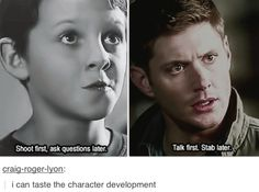 Supernatural character development