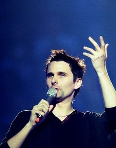 """Like we're totally serious"" NOT haha #MattBellamy #Muse"