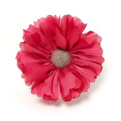 Add a lively touch to your style with this layered flower hair clip. Makes any look extra special!