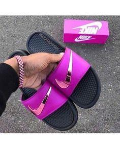 new styles af279 be9a2 23 Best Nike SLIDE Style images   Nike slides, Nike slippers, Flip ...