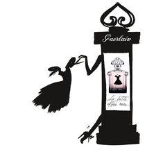 : La Petite Robe Noire de Guerlain prend du Champ (Élysées)