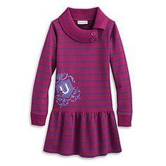 American Girl® Clothing: Striped School Dress for Girls