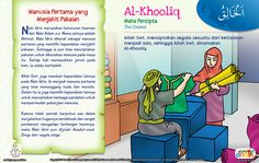 Kisah Asmaul Husna Al-Khooliq Learn Islam, Kids Story Books, Islam Quran, Islamic Quotes, My Children, Kids And Parenting, Muslim, Education, Learning