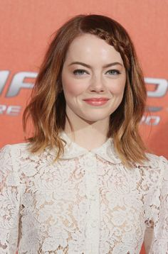 Image result for emma stone hair