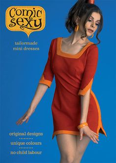Busra is wearing a 'Dolores' Comic Sexy mini dress. This dress features a square neckline, small slits on the skirt and arms, and a two-tone colour combination with panelling on the neckline, sleeves, hem and sides. Comic Sexy dresses are made from Ponta di Roma fabric. But unlike most fabrics, the yarn is dyed before it is woven to to achieve a deeper, more intense colour.