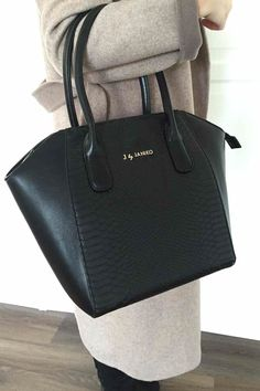 I can't believe how affordable this chic python bag is!