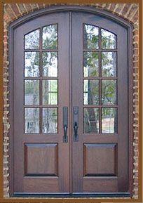 MAHOGANY DOORS HONDURAS · Double Front ...