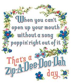 This Zip-A-Dee-Doo-Dah Day Cross Stitch pattern, Splash Mountain cross stitch, Disney art, large cross stitch is just one of the custom, handmade pieces you'll find in our patterns & blueprints shops. Disney Diy, Disney Crafts, Disney Love, Disney Stuff, Character Cupcakes, Splash Mountain, Disney Scrapbook Pages, Disney Quotes, Disney Posters
