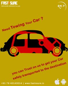 Need Towing Your Car ? You can trust us to get your car safely transported to the designation. Car Repair Service, You Got This, Transportation, Vehicle, Trust, How To Get, Automobile Repair Shop, Vehicles